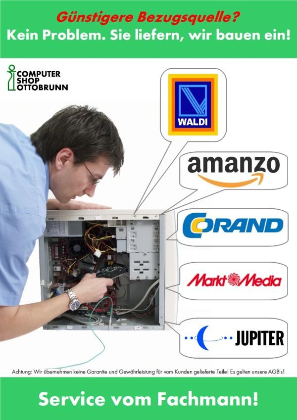 Plakat Computer selbst zusammenstellen 2